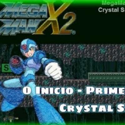 Megaman X2 - Primeiro Vilão - Crystal Snail!