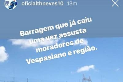 Thiago Neves usa tragédia de Brumadinho para provocar Atlético