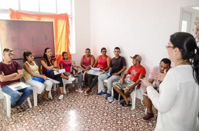 Saúde atende imigrantes venezuelanos