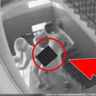 Coisas estranhas vistas em câmeras de segurança