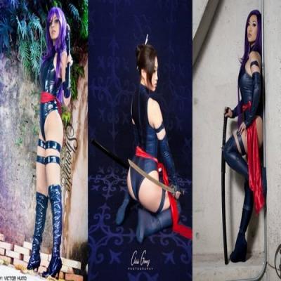 Psylocke – Cosplay Gata da Semana