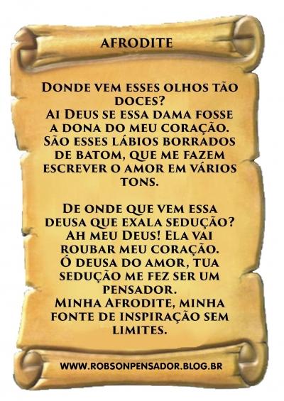 Poema: Afrodite