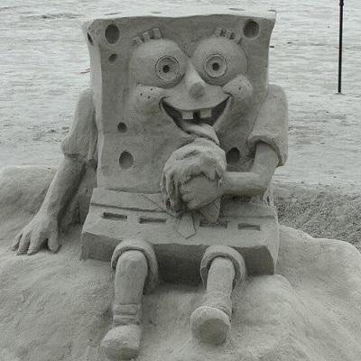 Incríveis esculturas de areia que vão deixar você encantado
