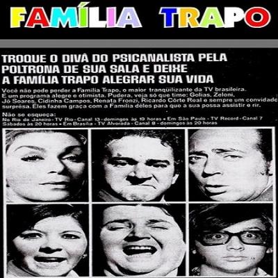Família Trapo - O programa foi líder de audiência no horário, durante três anos