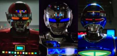 Gavan, Sharivan e Shaider - O Trio De Policiais Espaciais Mais Incríveis do Univ