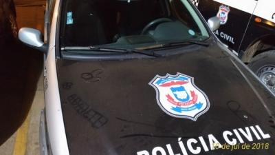 Jovem é preso por desenhar pênis em viatura da Polícia Civil em Mato Grosso