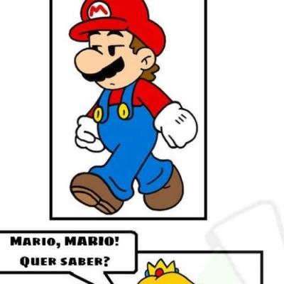Uma notícia para o Mario