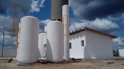 Novo sistema de água