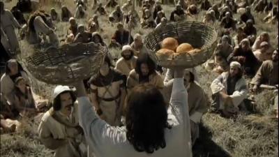 O primeiro milagre da multiplicação dos pães e peixes