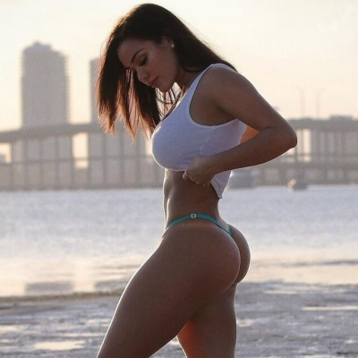 A modelo e musa americana chamada de a deusa do Instagram