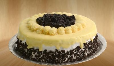 Torta light de ameixa