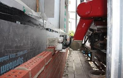 Robôs estão chegando à construção civil