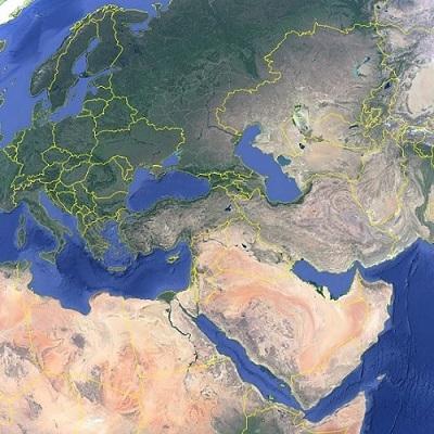Mapa dos teólogos cristãos