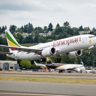 Simulação da queda do voo 302 Etiópia Airlines MAR 2019