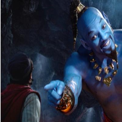 Aladdin will smith recria clássica