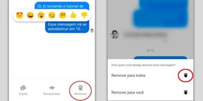 Como apagar mensagens enviadas pelo Facebook Messenger