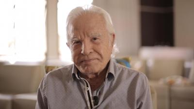 Aos 91 anos, Cid Moreira aparece com grave machucado e gera preocupação por cont
