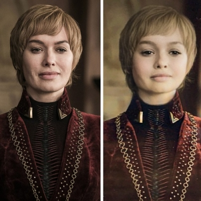 Atores de Game of Thrones se fossem crianças