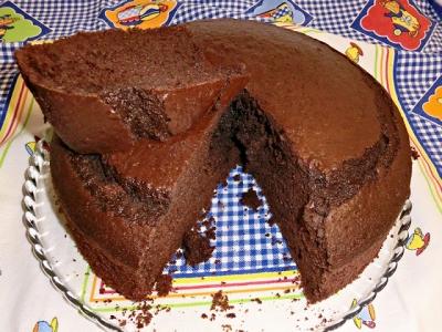 Bolo de Chocolate da Tia Leonor