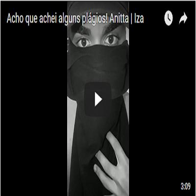 Acho que achei alguns plágios! Anitta | Iza
