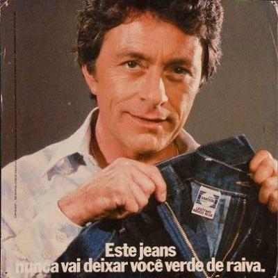 Comercial do jeans Santista com o Hulk - criado em 1982, foi um sucesso.