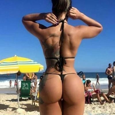 Até na praia
