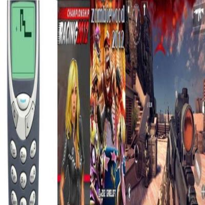 Evolução dos Games para Celular
