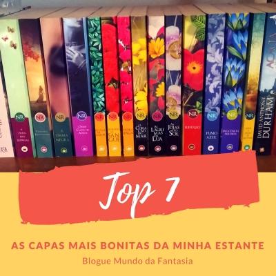TOP 7 - As capas de livros mais bonitas da minha estante