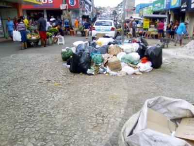 Muito lixo em Camaragibe