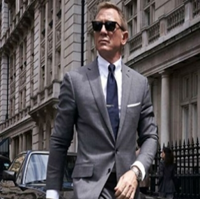 Bond 25 Daniel Craig aparece de volta