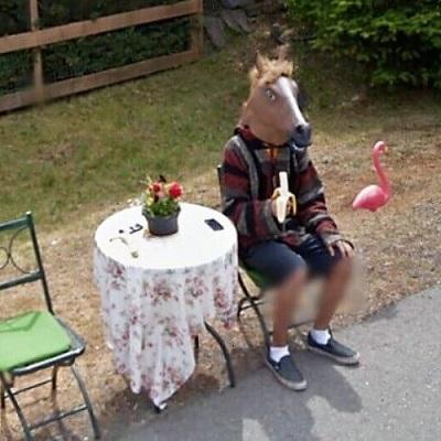 20 fotos totalmente bizarras capturadas pelo Google Street View