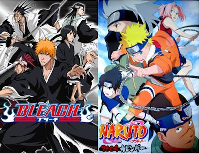TOP 7 - Semelhanças entre Naruto e Bleach