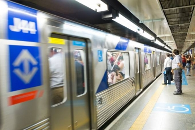 Mulher é agredida por seguranças do Metrô