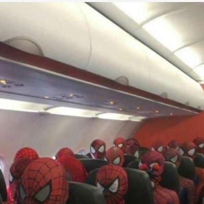 Um avião só para Miranhas.