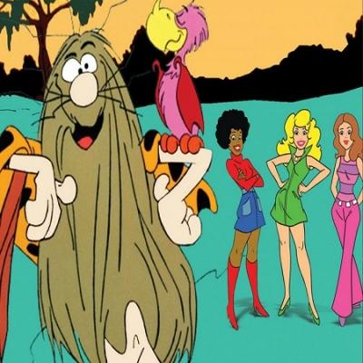 Capitão Caverna e as Panterinhas - Foi exibido pela primeira na TV Globo em 1978