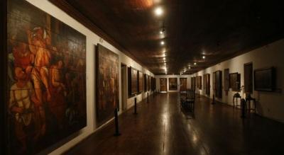 Falta de manutenção em museu