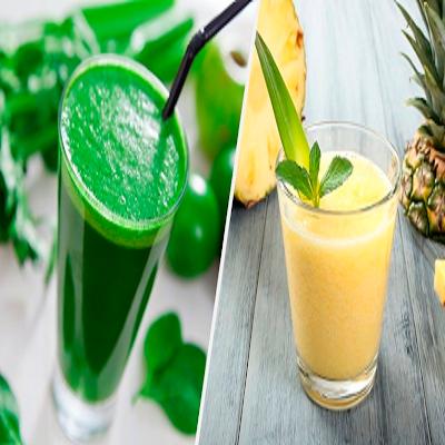 6 Receitas de Suco Para Celulite