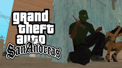 GTA San Andreas #07 A mina do sweet