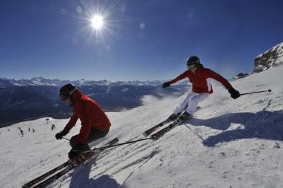 Esqui e sofisticação na Suíça para fugir do calor