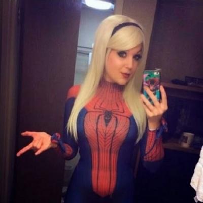 Ela conseguiu fazer o melhor cosplay do mundo...
