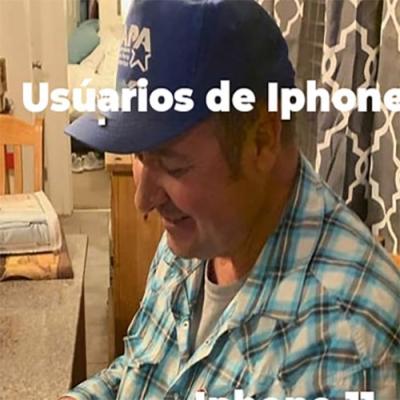 Surpreendendo um usuário de Iphone