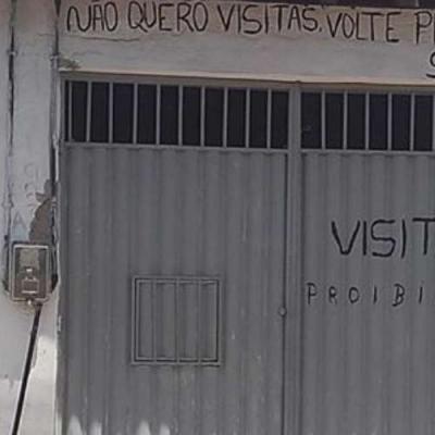 Odeio visitas, proibidas