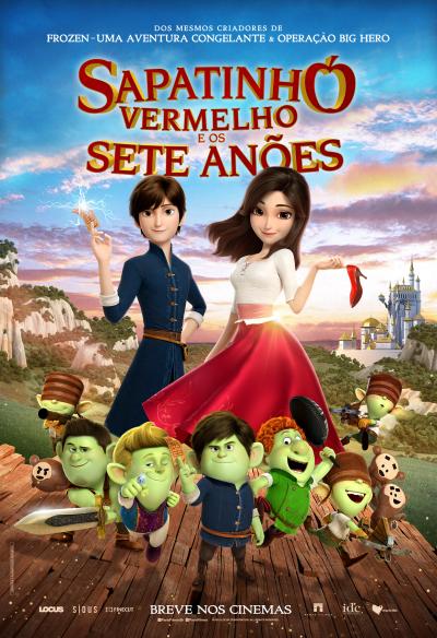 Animação 'Sapatinho Vermelho e os Sete Anões' ganha trailer