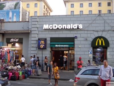 Prefeitura de Roma impede abertura de loja do McDonald's