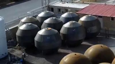 Você não vai acreditar em como eles fazem tanques esféricos