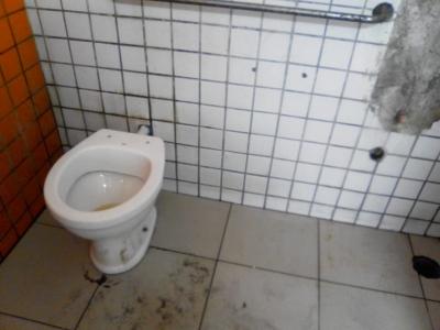 Sanitário da imundície