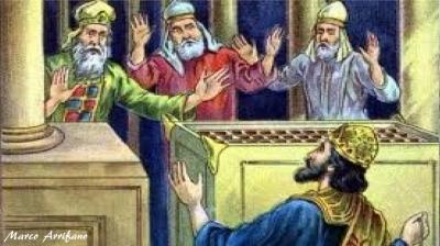 A enfermidade do rei Jeorão pelo seu pecado