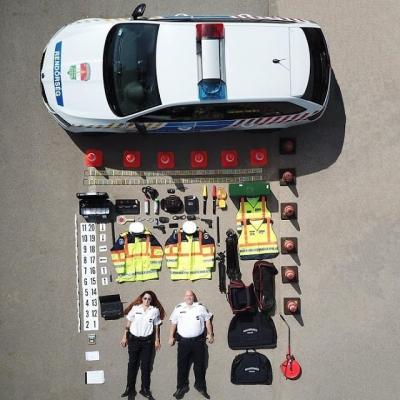 Fotos mostram o equipamento de serviços de emergência ao redor do mundo