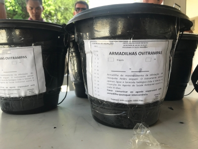 Brigada de Vigilância Ambiental em Presídio