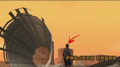 GTA San Andreas #59  Projeto negro